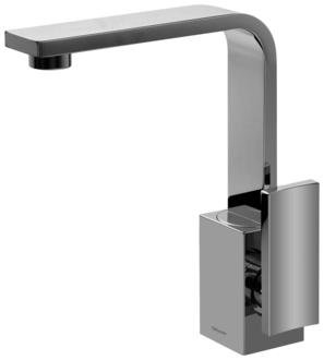 Graff G-3601-LM36 Targa Single Handle Bathroom Faucet with Single Handle Finish: Polished Chrome
