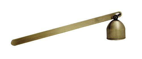 Wickman Bell Snuffer with Antique Brass Finish