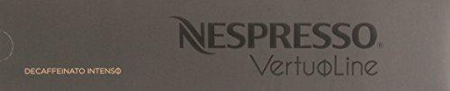 10 Capsules Nespresso VertuoLine Decaffeinato Intenso Coffee (Nespresso Decaf Intenso Capsules compare prices)