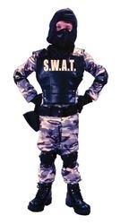 S W A (Swat Costume For Kids)