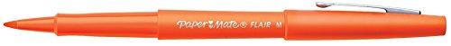 paper-mate-flair-felt-tip-pen-medium-point-orange-1-pack