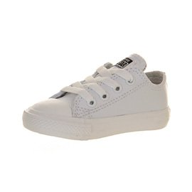 kids white leather converse