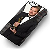 leonardo-dicaprio-oscar-for-the-revenant-tr-for-iphone-6-and-iphone-6s-case-black-rubber-case