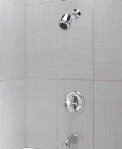 Jaclo 1/2' Thermostatic Tub & Shower 6000-123-40-PCH Polished Chrome