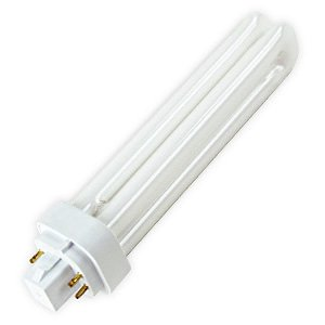 25-Pack - 26W - G24q-3 Base - Twin Tube - 4-Pin - T4 - 5000K - SkyBrite - Superior Life - CFL Plug-In Light Bulb