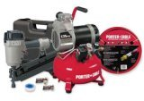 Porter-Cable CFFR350C Round Head Framing Nailer Compressor Combo Kit