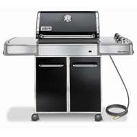 Weber 3841001 Genesis E-310 Natural Gas Grill, Black
