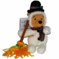 """Mini Bean Bag Snowman Disney Winnie Pooh 8"""" - 1"""