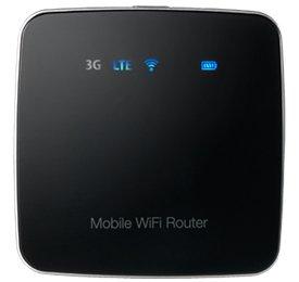 LTEモバイルWiFiルーター FS010W (ブラック) 標準SIM用ルーター
