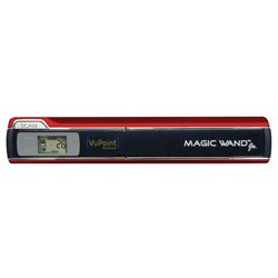 Vupoint PDS-ST510R-VP Magic Wand Jr. Portable Scanner, Red
