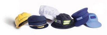 Brand-New-World-Community-Helper-Dramatic-Dress-Ups-Hat-Collection-Set-of-6