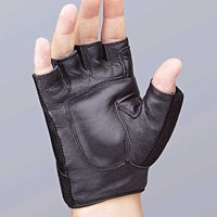 FLA Orthopedics Safe-T-Glove Vibration Dampening Gloves, Sold by the pair, Black - Small