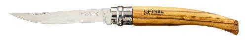 Opinel - 1090 - Plumier avec un Couteau Effilé N°10 Olivier + Gaine