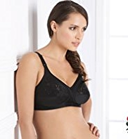 Total Support Embroidered Non-Wired GG-K Bra