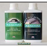 Renovo Soft Top Canvas Cleaner & Reviver (Black) - 500ml.