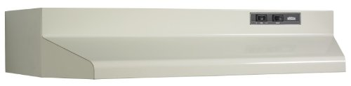 Broan 402408 Under Cabinet Hood, 160 Cfm, 24-Inch, Almond