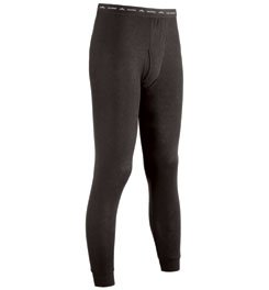 ColdPruf Men's Single Layer Bottom, Black, XX-Large