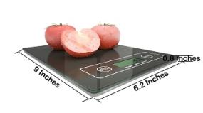 Digital Kitchen Scale Dimensions