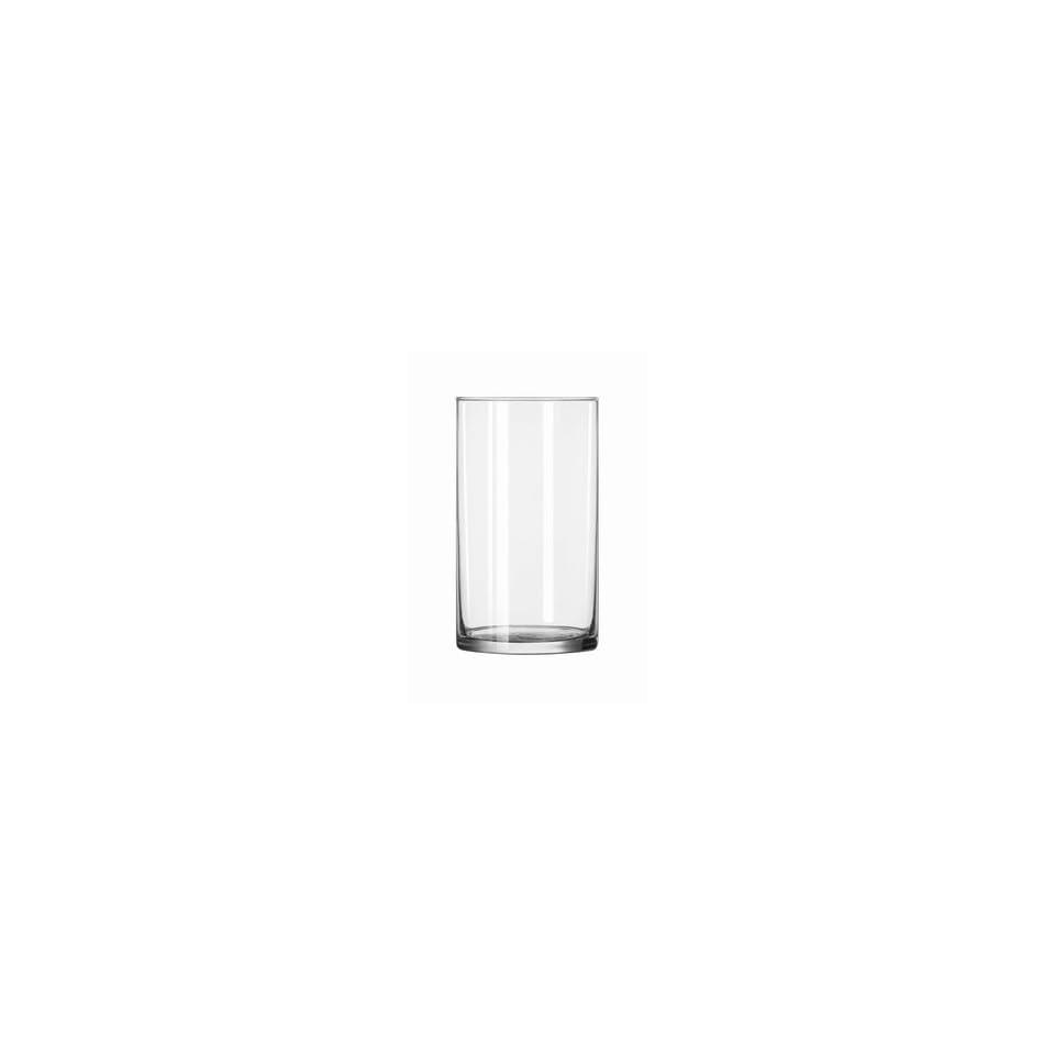 Libbey 884 NOSPR 27.5 oz Barber Pole Candle Glass Jar (1 Ea.)