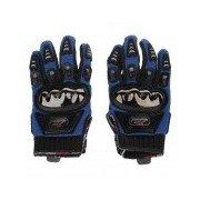 Mad Bike MAD-01S Professional Full-Finger Racing Gloves - Blue + Black (Size-XL) Blue + Black XL
