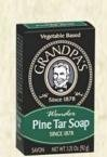 Grandpa's Soap Co. Soap Pine Tar 3.25 Ounces