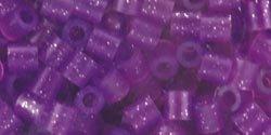 Perler Fun Fushion Beads 1000/Pkg-Purple Glitter