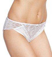 Autograph No VPL Baroque Embroidered Brazilian Knickers