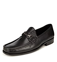 Collezione Leather Snaffle Loafers