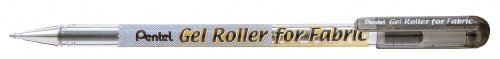 Gel Roller for Fabric, 1.0mm, Bold Lines, Permanent, Black Ink, Box of 12 (BN15-A)