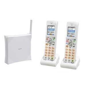 三洋電機 地震速報対応デジタルコードレス留守番電話機 TEL-LANW60(ホワイト) TEL-LANW60(W)