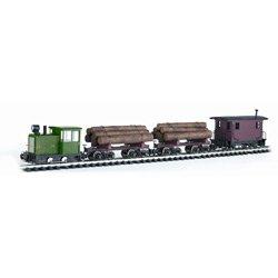 Bachmann Trains Lumberjack Ready-To-Run Large Scale Train Set