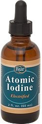 Atomic Iodine, 2 oz.