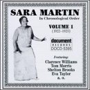 Album The Complete Recorded Works by Sara Martin