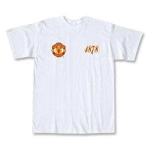 Manchester United 2008 Date Soccer T-Shirt