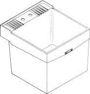 Buy Laundry Tub Sink - Wall Mount (E.L. Mustee & Sons, Inc. Sinks, Plumbing, Sinks, Utility)