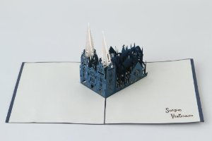 Castle Pop Up Card