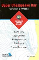 Upper Chesapeake Bay Fishing Map - Cove Point to Annapolis