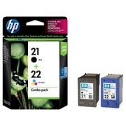 HP 21 / 22 Ink Cartridge Combo Pack, HP C9509FN Ink