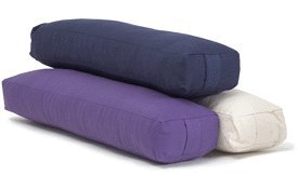 YogaAccessories (TM) Pranayama Cotton Yoga Bolster – Blue,$19.48