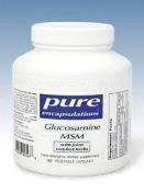 Pure Encapsulations - Glucosamine Msm W/Joint Comfort 180Vcaps