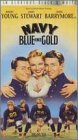 Navy Blue & Gold [VHS]