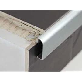 Step Aluminium Worktop Countertop Edging For Tiles - 2.5m. : Aluminium ...