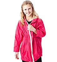 Limited Lightweight Hooded Shower Resistant Poncho Mac