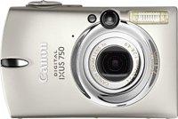 Canon Digital IXUS 750 Silver Digital Camera [7MP, 3 x Optical Zoom]