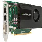 HP NVIDIA Quadro K2000 Graphics Card 2 GB