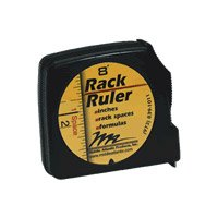 Middle Atlantic Products Rack Ruler Tape Measure for Rack Unit Measurements