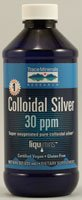 Trace Minerals Research Colloidal Silver - 30 ppm - 8 fl oz (Quantity of 2)