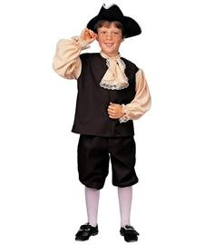 Colonial Boy Child Historical Thanksgiving Holiday Kids Costume