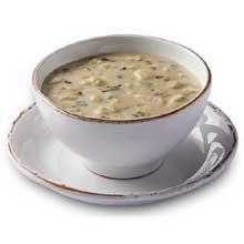 Truesoups Artichoke And Chicken Florentine Soup - 8 Lb. Bag, 4 Per Case front-10667