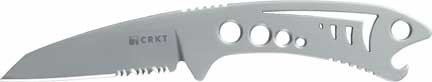 Columbia River Knife And Tool'S 2371 Krein Dogfish Serrated Edge Fixed Blade Knife